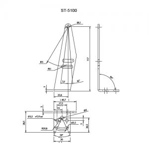 Staffa di supporto ST-5100